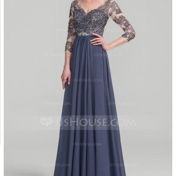 JJ Dresses | Bnwt Evening Gown Womens 16w Formalmardi Gras | Poshmark